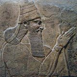 Tiglath-Pileser III was a prominent king of Assyria in the eighth century BC (ruled 745–727 BCE) and is widely regarded as the founder of the Neo-Assyrian Empire.<br/><br/>  Tiglath-Pileser III seized the Assyrian throne during a civil war and killed the royal family. He made sweeping changes to the Assyrian government, considerably improving its efficiency and security. Assyrian forces became a standing army. Tiglath-Pileser III subjected Babylonia to tribute, severely punished Urartu (Armenia), and defeated the Medes and the Hittites. He reconquered Syria (destroying Damascus) and the Mediterranean seaports of Phoenicia. Tiglath-Pileser III also occupied Philistia and Israel. Later in his reign, Tiglath-Pileser III assumed total control of Babylonia.<br/><br/>  Tiglath-Pileser III discouraged revolts against Assyrian rule, with the use of forced deportations of thousands of people all over the empire. He is considered to be one of the most successful military commanders in world history, conquering most of the world known to the Assyrians before his death.<br/><br/>  Assyrian documents indicate that Tiglath-Pileser III advanced through Phoenicia to Gaza. Gaza was eventually sacked and the ruler of Gaza escaped to Egypt but later continued to act as a vassal administrator. The motive behind the attack was to gain control of the South Arabian incense trade which had prospered along the region.